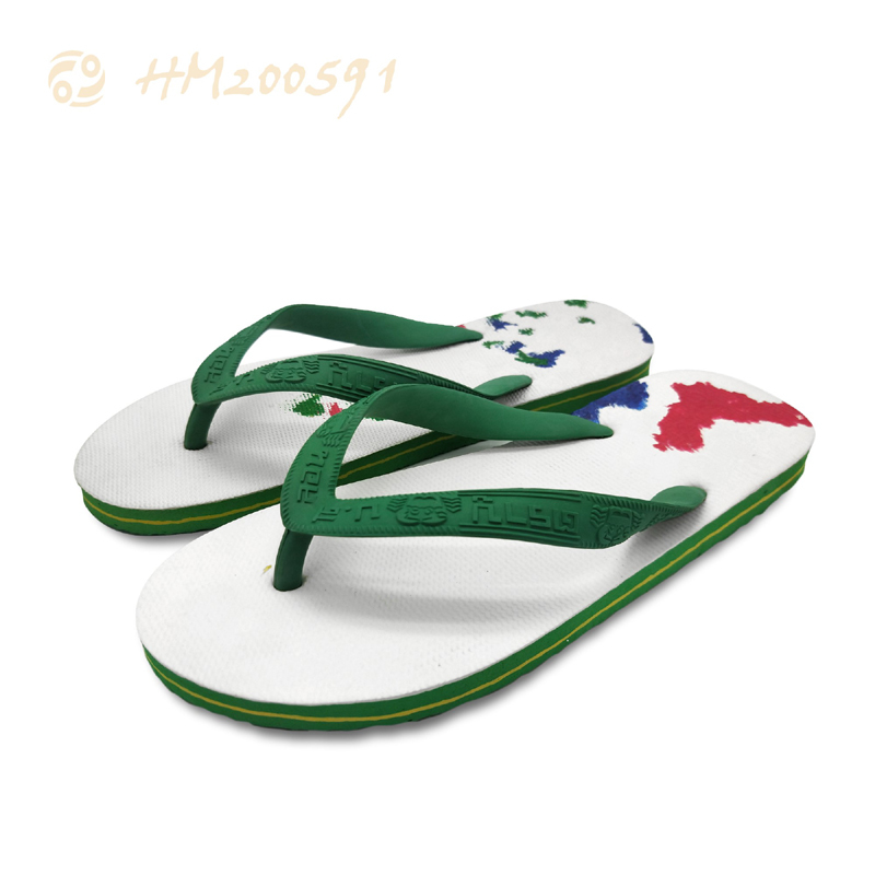 Cheap Flip Flops for Men Wholesale Beach Printing Slippers