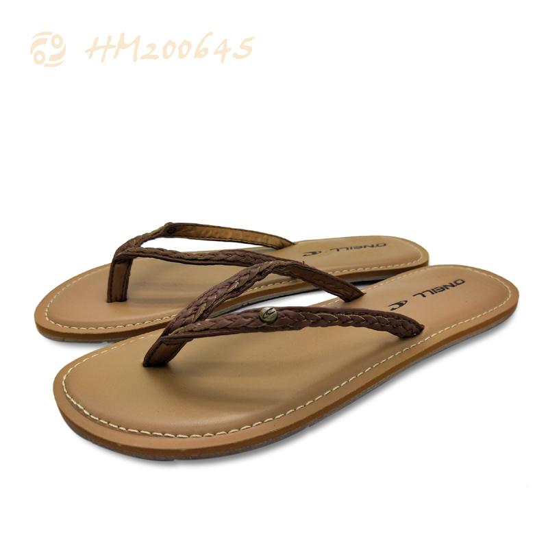 Wholesale Women Flip Flop Sandals Leather Slipper Sandals for Ladies