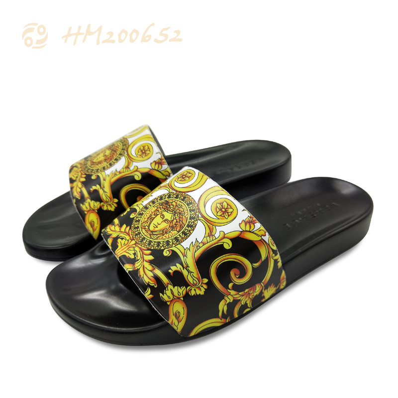 Wholesale Printing Slides Slippers Fashion Men Outdoor Sandals