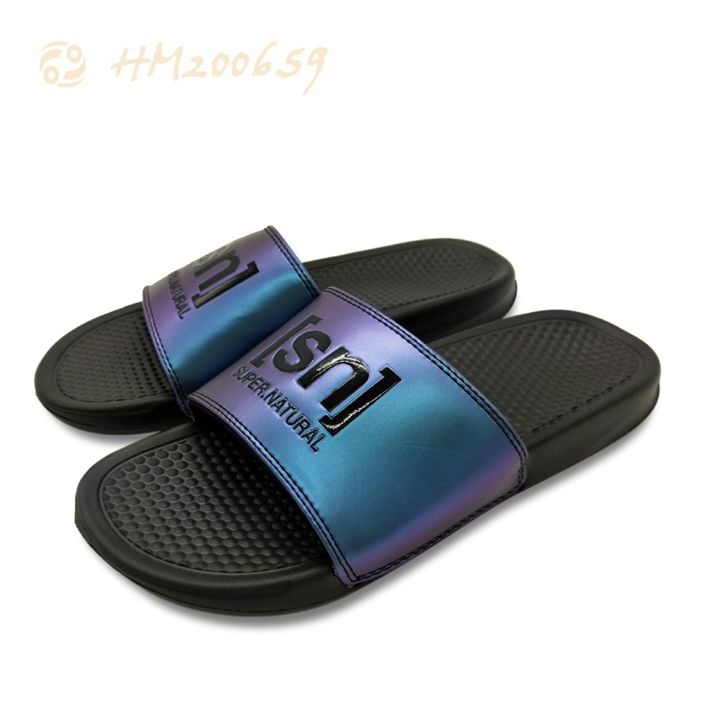 High Quality Slides Sandals Cutomized Embossed Logo Slipper Sandals
