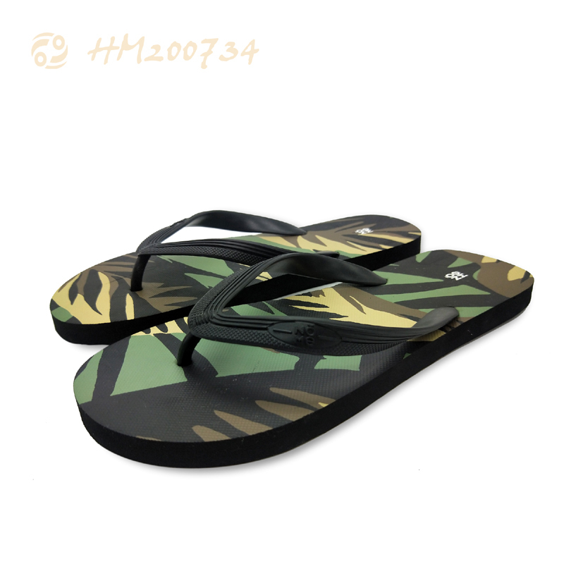 Customized Flip Flops for Men Printing Anti-slip Sandals