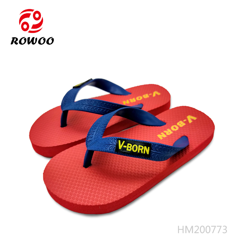 China Professional Wholesale Kids Flip flop slipper From China Rowoo