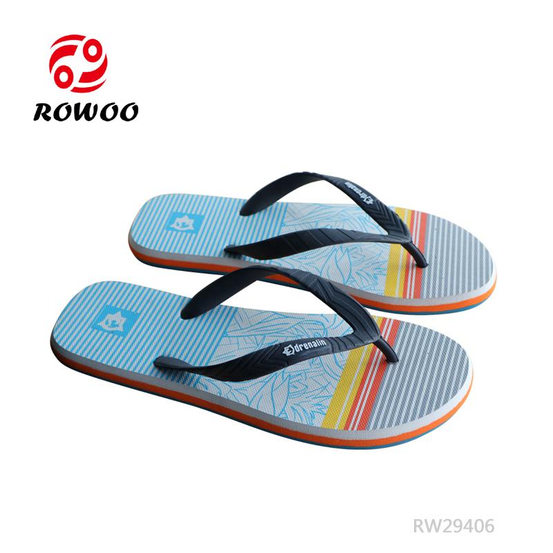 Durable Men Rubber Flip Flops Wholesale High Quality Slipper Sandals Men Shoes