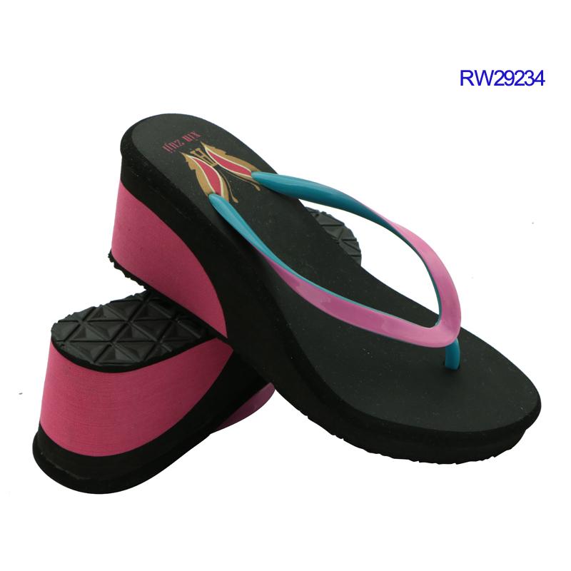 Wholesale platform heels slippers factory price-2
