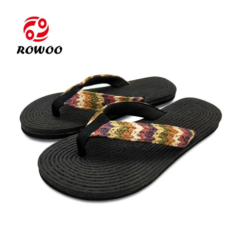 New Design Women Webbing Flip Flops Sandals Cheap Slipper Ladies Sandals