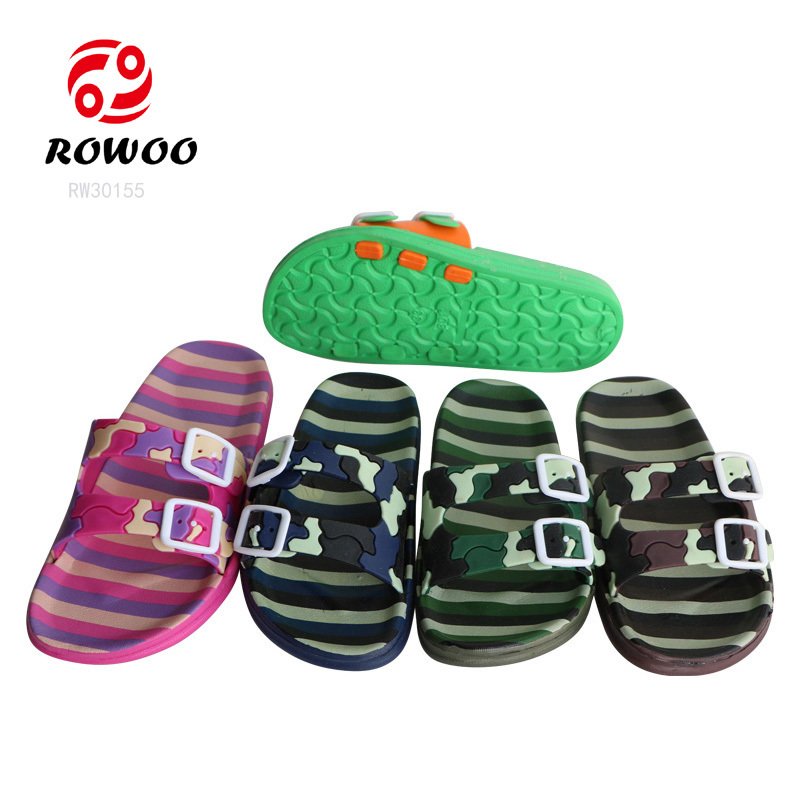 Rowoo New children's slip on slippers hot sale