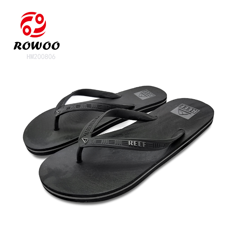 Casual Beach FlipFlops Sandals Flat Shower Men Slippers Thong Sandals Oem With Good Price-Rowoo
