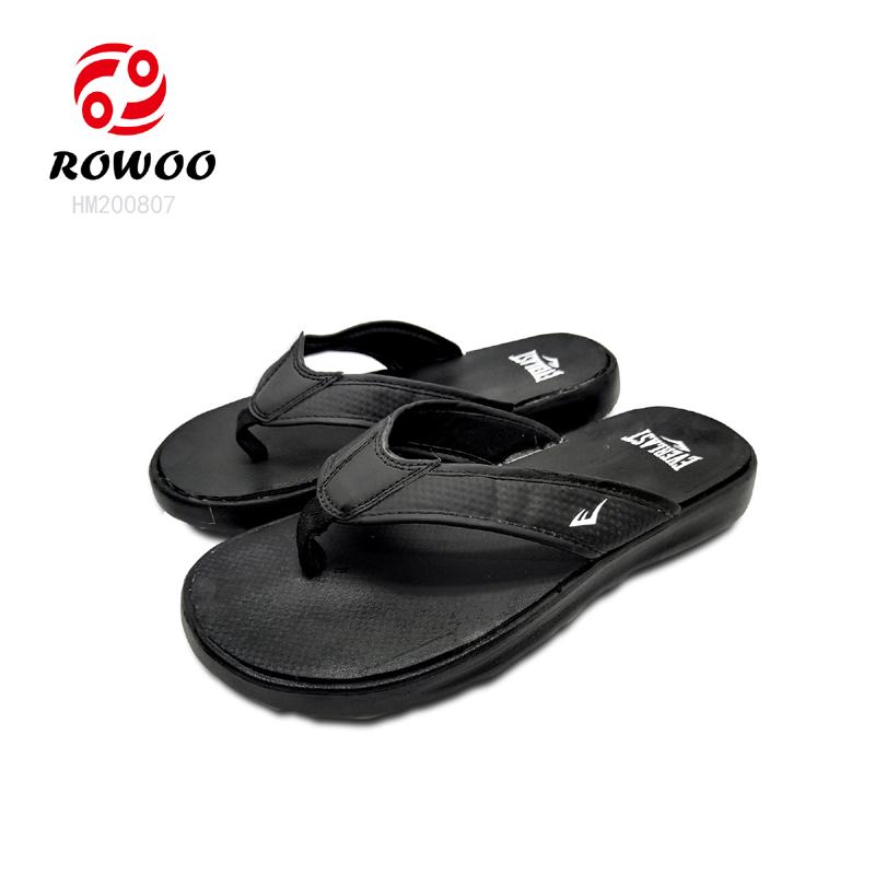 PU strap upper EVA sole fashion Luxury beach flipflop cheap flip flop slipper for men