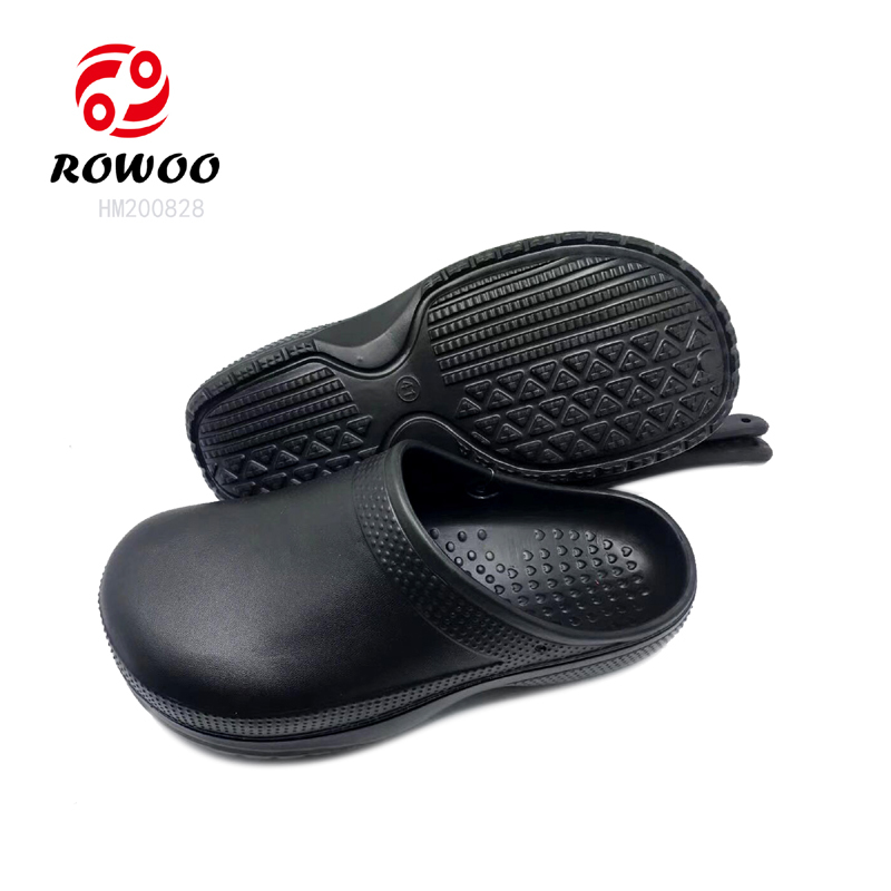 Customized wholesale fur lining cheap clogs non-slip colorful nursing clogs eva medical clogs for men