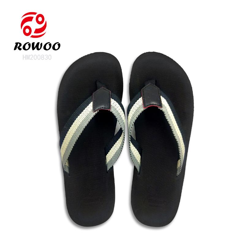 Rowoo Latest mens thong flip flops-1