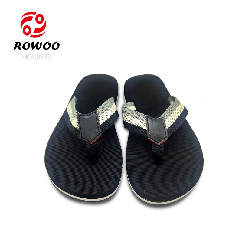 Rowoo Latest mens thong flip flops-2