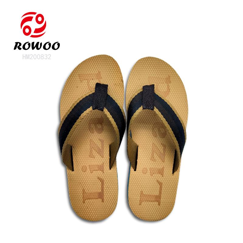 Rowoo mens white flip flops supplier-1