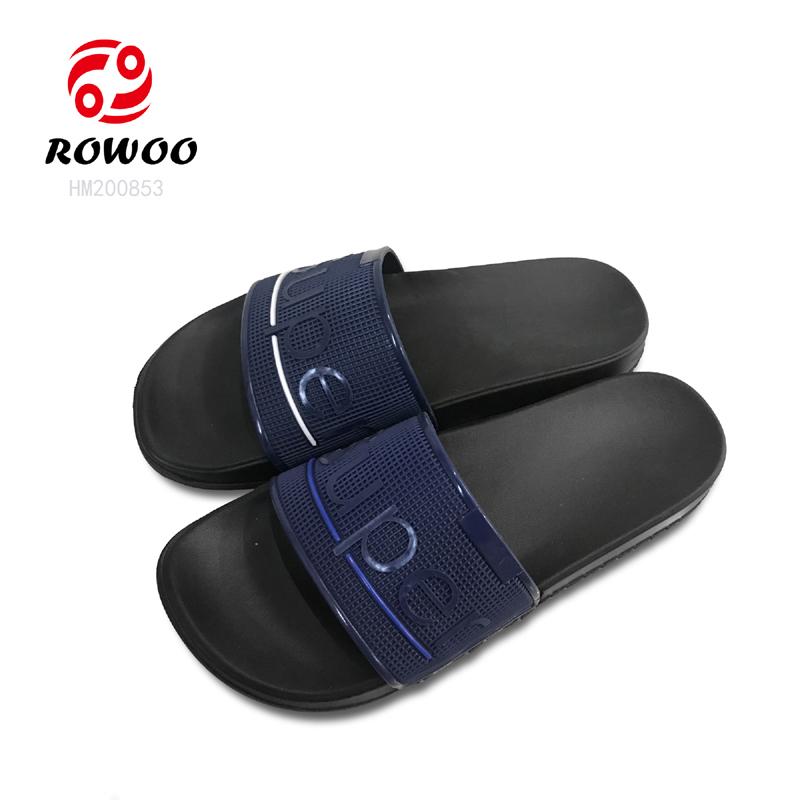 Hotsale Men Flip Flop PU upper indoor slipper comfortable anti  slippery sandal