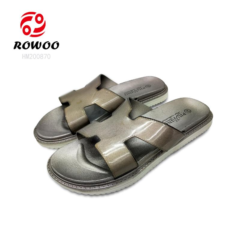 Wholesale women PU upper fashion comfortable sandal anti slippery sandal