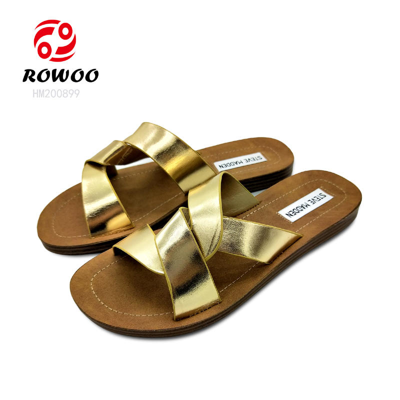 Rowoo Best cheap womens flip flops hot sale-1