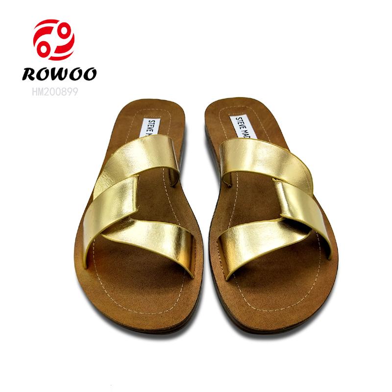 Rowoo Best cheap womens flip flops hot sale-2