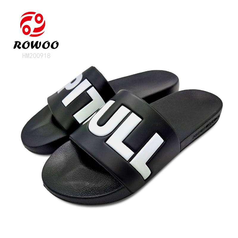 Hotsale Men Slide PU upper indoor fashion comfortable new sandal
