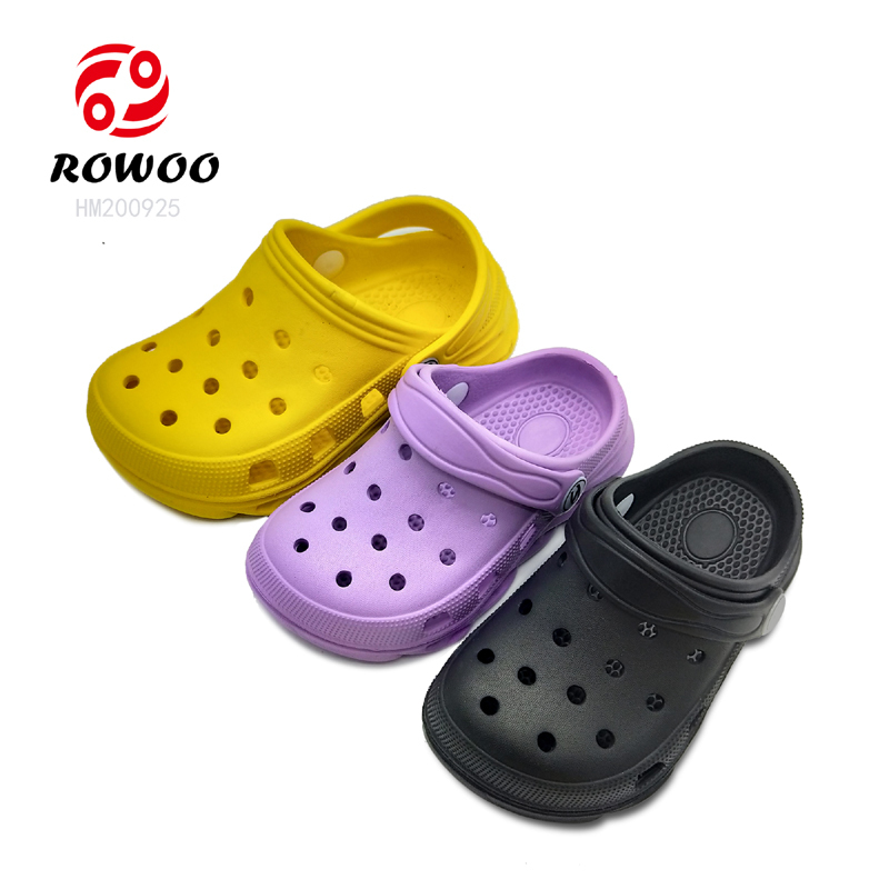 wholesale anti-slippy light  comforty  garden shoes for kids