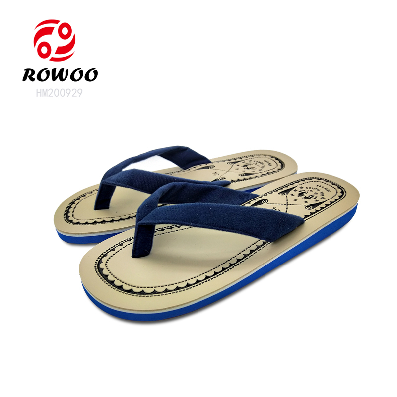 New Design Fabric upper Flip Flops Sandals Cheap Fashion Slipper