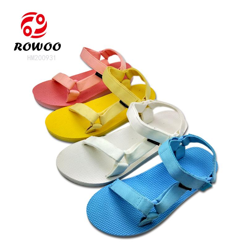 Customized fashion new design light EVA sandal for women
