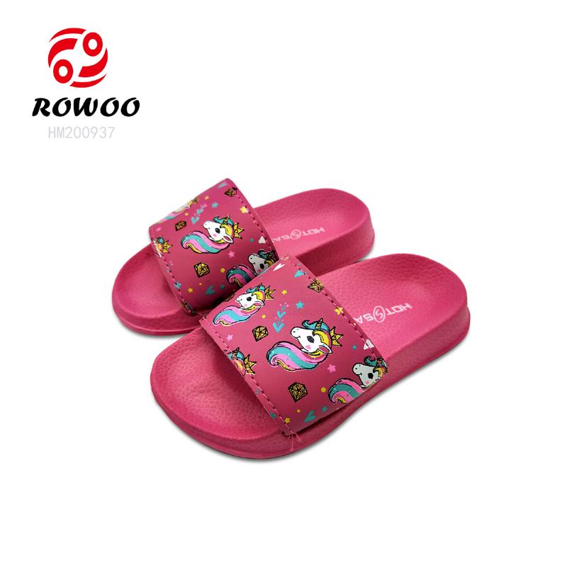 China supplier wholesale PU upper light slide sandal for Kid