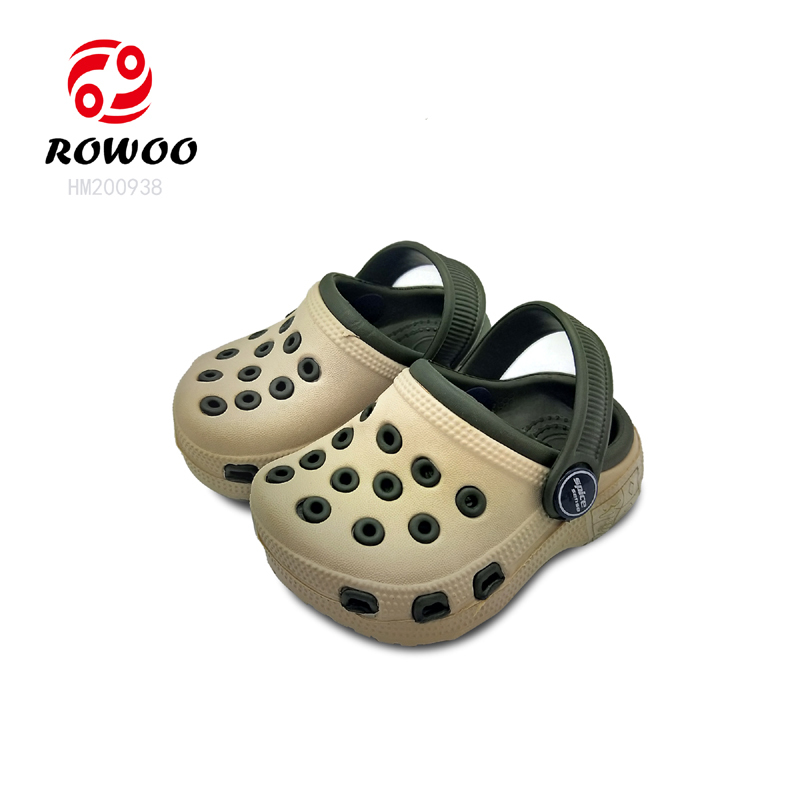 China supplier hotsale style anti-slip High Quality clog light garden shoes for kids