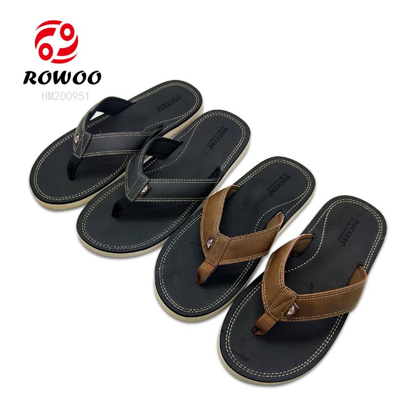 latest design comforable Fashion Slipper men sandal