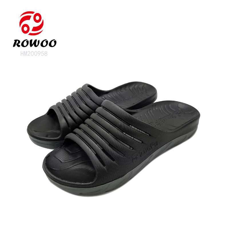 Latest design EVA sole  slide sandal comfy light anti-slip indoor slipper