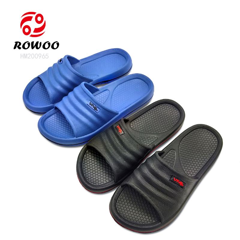 China supplier  EVA sole slide sandal comfy light anti-slip indoor slipper