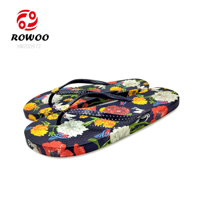 New design PVC strap EVA sole slipper comfy anti-slip fashion Flipflop for women