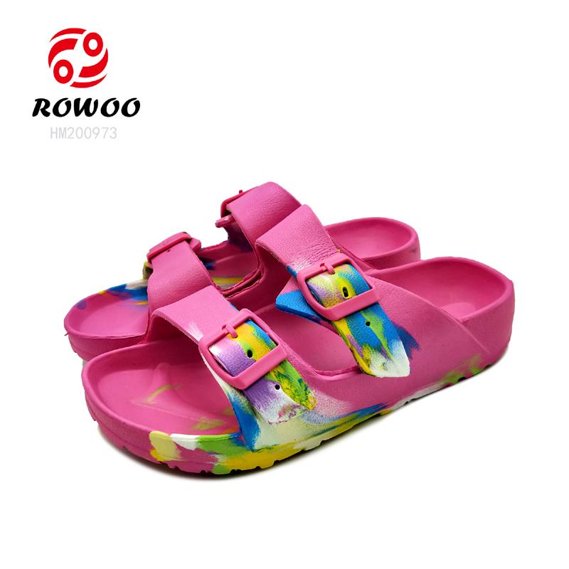 Hotsale customized  EVA  slide comfy anti-slip slipper light sandal