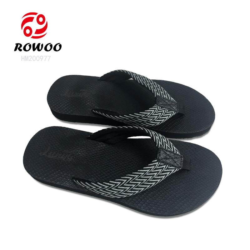 China supplier customized comfort sandal gents slippers men rubber flipflop luxury new Fashion men sandal