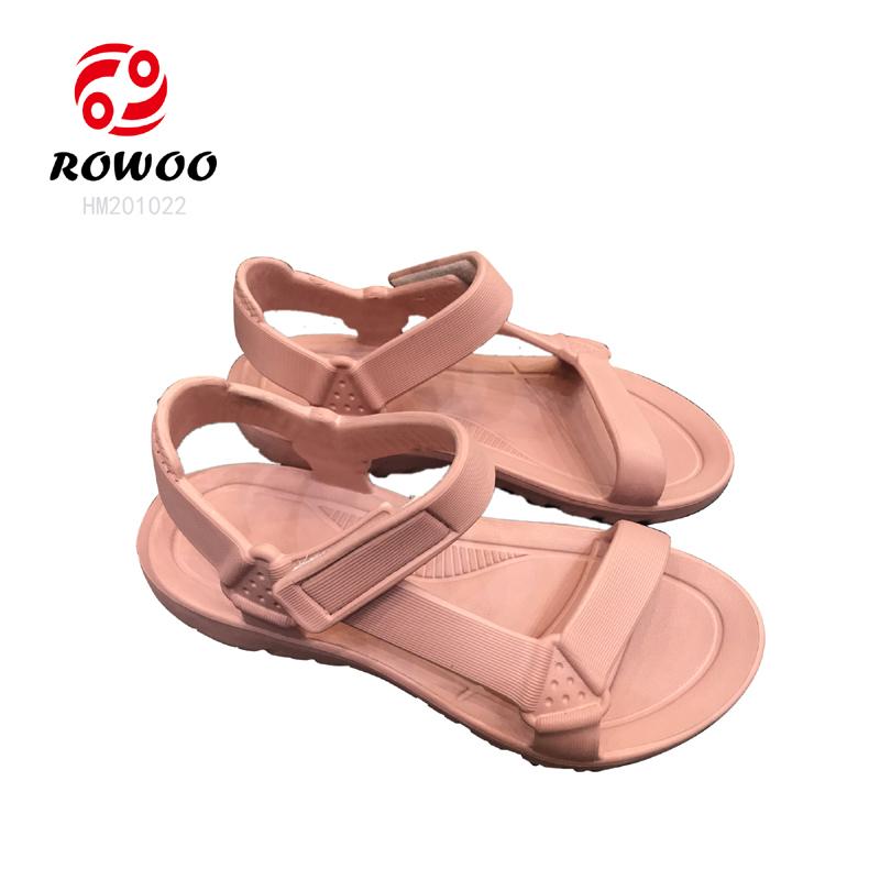 Latest design hotsale  EVA luxury fashion Anti Slippery light sandal for women