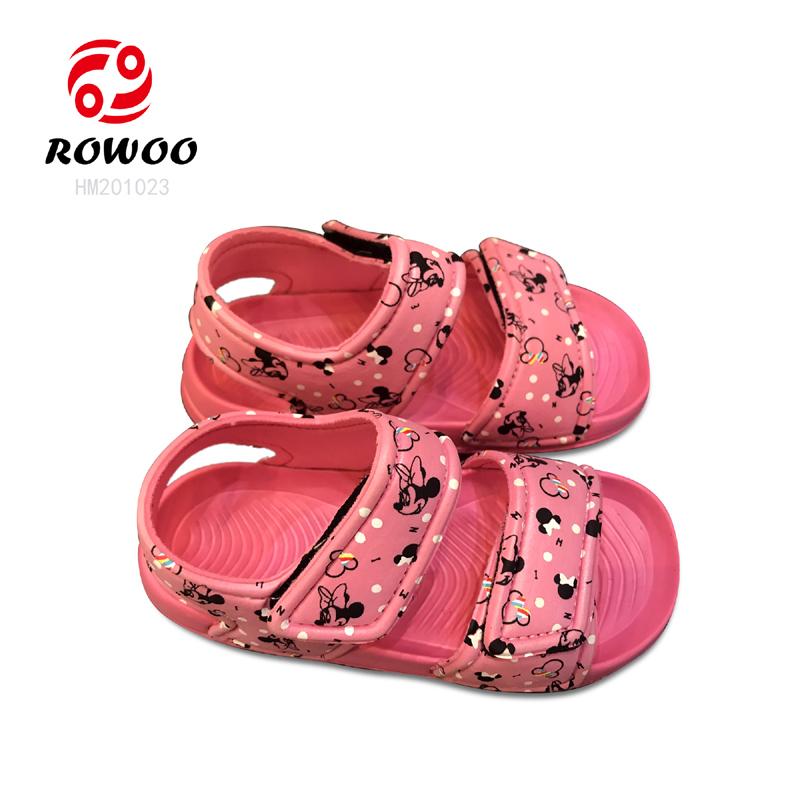 hotsale  EVA  light anti slipy  cheap luxury slide kids sandal