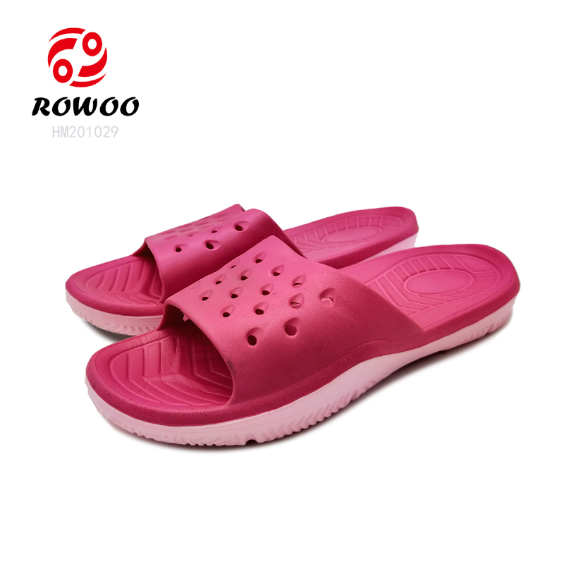 fashion comfortable light slipper Anti Slippery cheap slide sandal  for women
