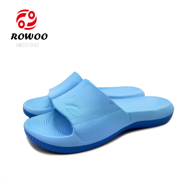 Hotsale open toe sandal luxury indoor slipper comforty anti-slip light slide sandal