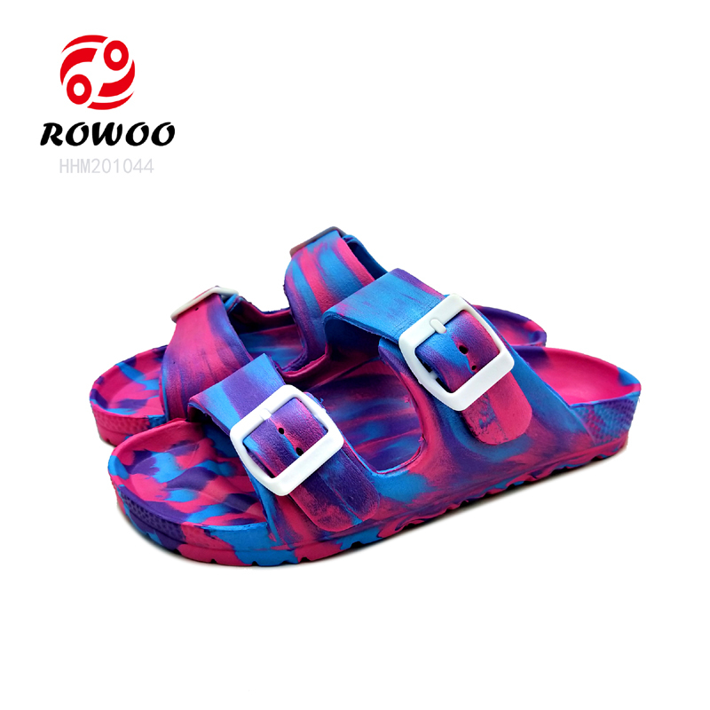 Latest design EVA fashion confortable light Moses style cheap sandal for children women
