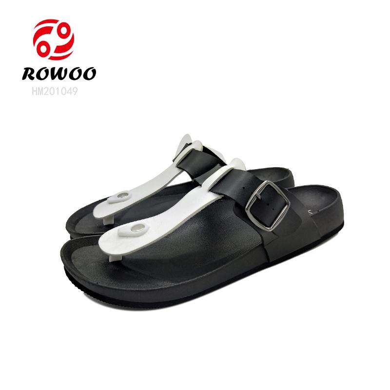 customized comforty sandal gents rubber flipflop luxury slippers new Fashion men sandal