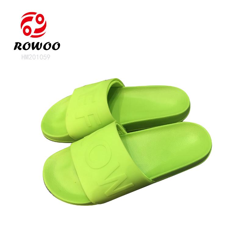 Customized open toe anti-slip comfortable sandal high quality slippers for men