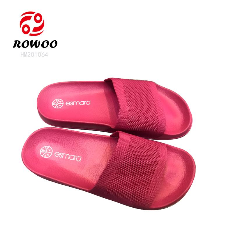 hotesale new design elestic slide sandal comfortable fashion women slipper