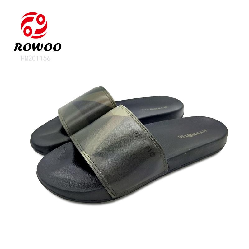 New design open toe anti-slip comforty indoor slipper fashion slide sandal for men