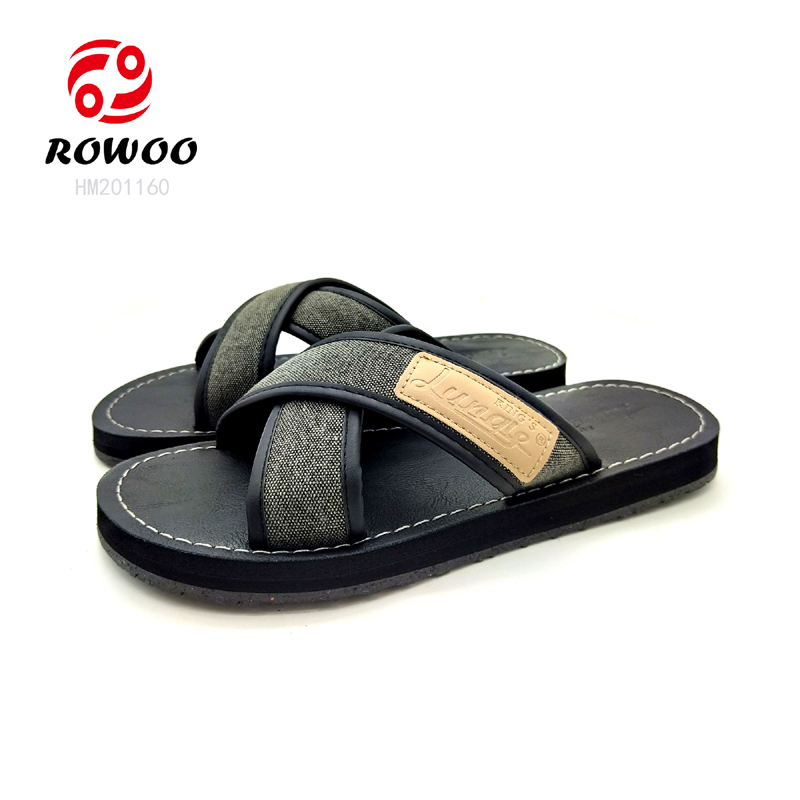 customized Latest Design comforty sandal gents slippers luxury flipflop new Fashion sandal for men