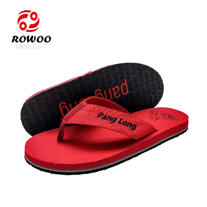 soft strap sand imprint flip flops engraved logo sole slipper