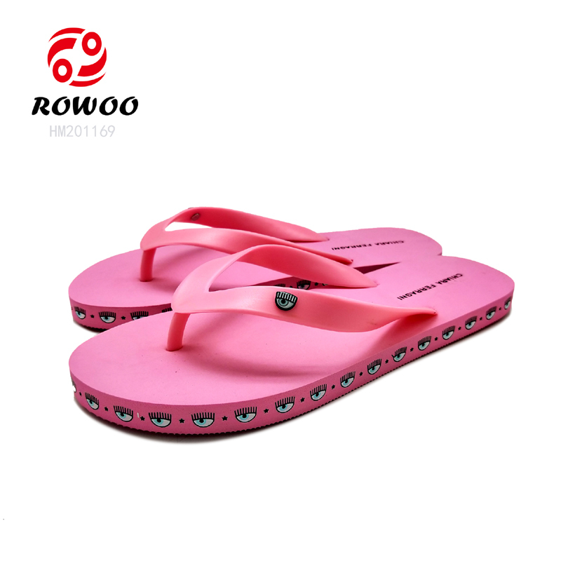 wholesale PVC strap EVA sole with diamond slippers for women