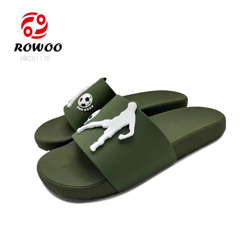 Customized PVC upper open toe sandal cute boy slippers