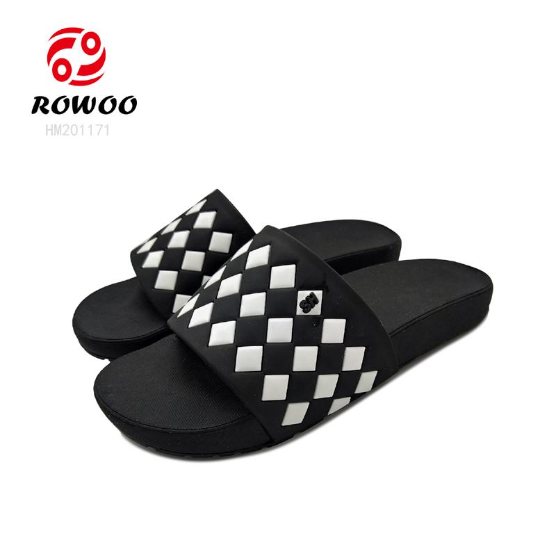 Hotesale PU upper Luxury anti-slip flipflop comfortable indoor slipper for men