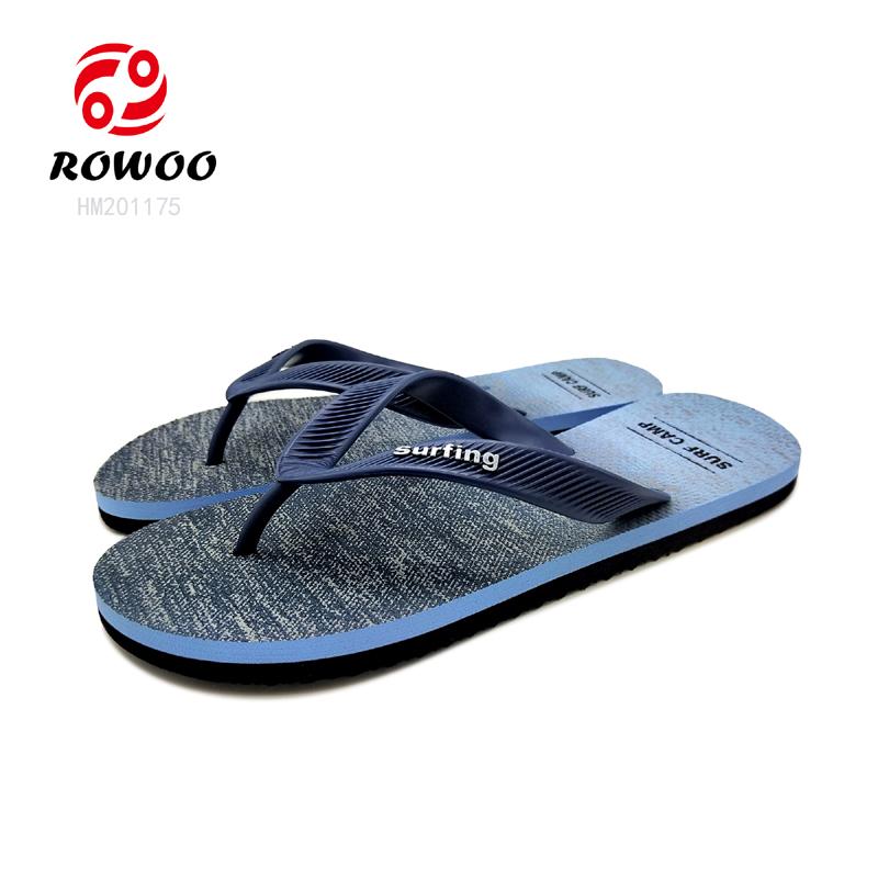 hotsale customized comfort PVC flipflop gents EVA new Fashion slippers for men
