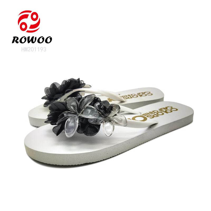 top quality ladies shoes diamond strap luxury EVA beach slipper fashion flipflop for women