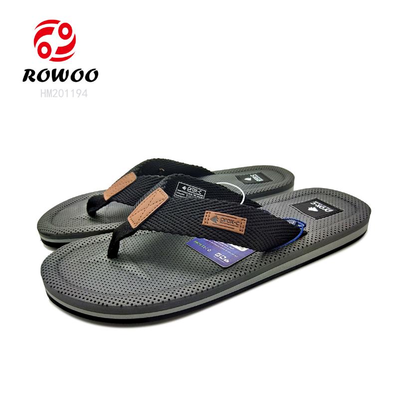 customized gents latest design sandals men EVA slippler luxury new Fashion slippers for men