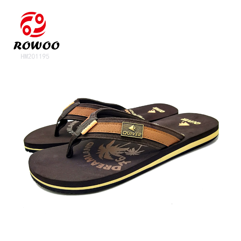 customized gents sandals luxury new Fashion slippers for men